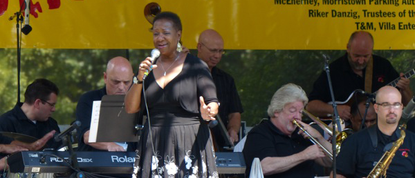 Carrie Jackson with The Jazz Lobsters
